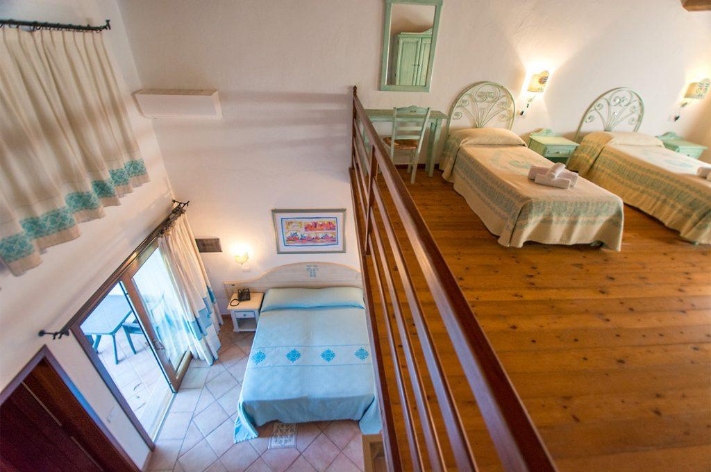 Liscia Eldi Resort San Teodoro, Camera Quadrupla Soppalco