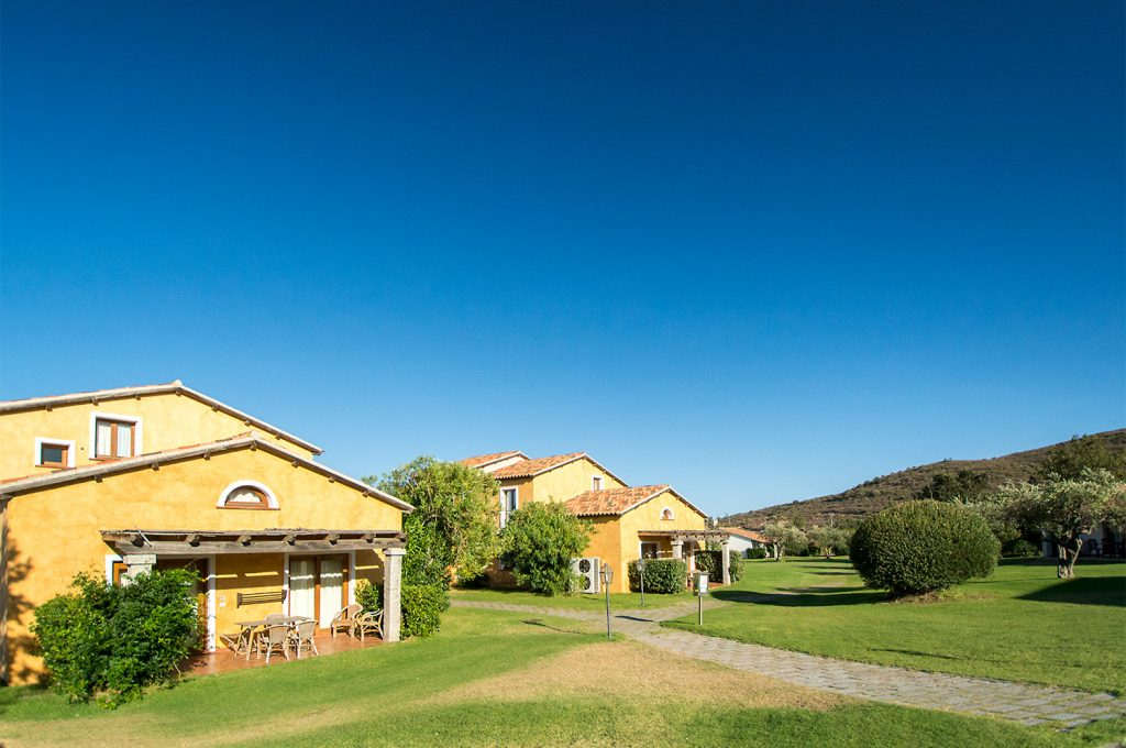 Liscia Eldi Resort San Teodoro Sardegna - Giardino